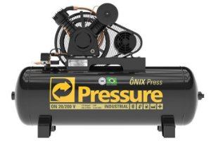 PRESSURE Compr Ar 20PCM V 200L 175PSI ON PRO TRIF