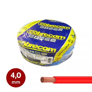 Cabinho flexível 4,0mm Cobrecom