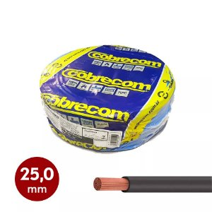 Cabinho flexível 25,0mm Cobrecom