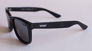 Óculos de Sol clássico Dani - Preto com lente preta
