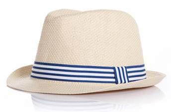 Chapéu panamá -  palha