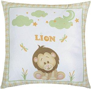 Almofada Cheia Estampada Baby 45x45 Baby Zoo 2018 B - Lynel