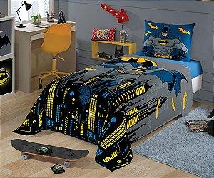 Jogo de Lençol Solteiro 3 Peças Estampado Batman - Lepper
