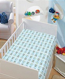 Manta Baby Soft Disney 90x110 Mickey e Donald - Jolitex