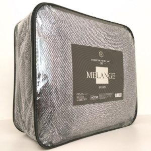 Cobertor Ultra Soft Melange Queen Marrom - Rozac