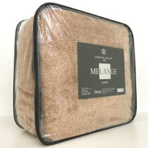 Cobertor Ultra Soft Melange Queen Mostarda - Rozac
