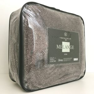 Cobertor Ultra Soft Melange King Marrom - Rozac