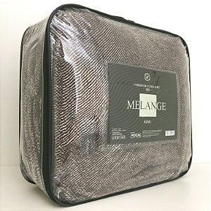Cobertor Ultra Soft Melange King Marrom - Rozac