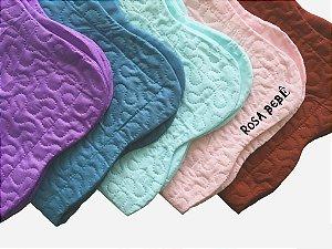 Porta Travesseiro Matelado Ultrasonic Dyuri 50x70 Rosa Bebê - Jolitex