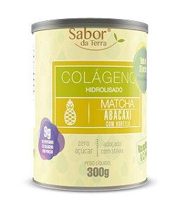 Colágeno Hidrolisado Matcha Abacaxi com Hortelã