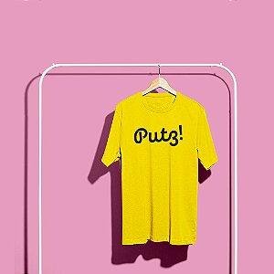 Camiseta Putz! Amarela