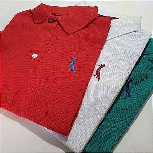 Kit 6 Camisas Polo Básica Masculina - Malha Piquet