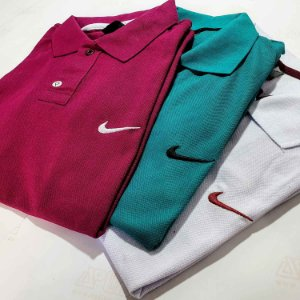 Kit 25 Camisas Polo Básica Masculina - Malha Piquet
