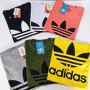 Kit 25 Camisetas Masculinas Estampadas Fio 26.1