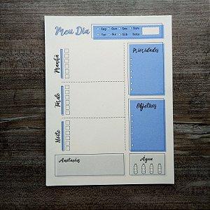 Bloco planner diário