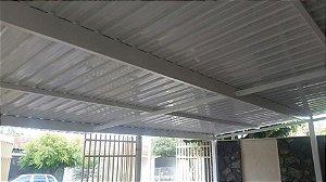 Cobertura Garagem em Telha Sanduíche