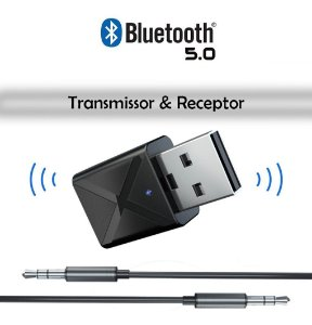 Adaptador Bluetooth Transmissor Audio Tv/fone/som/ps4 Novo