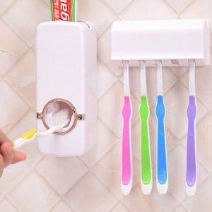 Dispenser Pasta De Dente Aplicador Automático Porta Escova Novo 2020