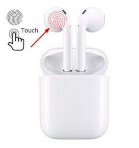 Fone De Ouvido Bluetooth I11 Tws Mini 5.0 Versão Touch Sem Fio Branco Novo 2020