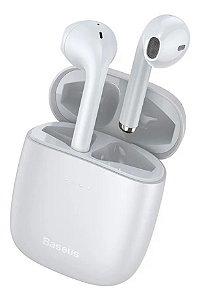Baseus W04 Pro Fone De Ouvido Sem Fio Wireless 5.0 Original Branco