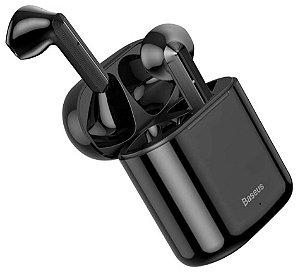 Fone Sem Fio Baseus Encok W09 TWS - Bluetooth 5.0 - Preto Novo