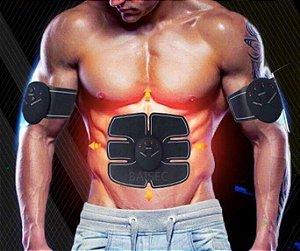 Estimulador Muscular Emagrecimento Aparelho Abdominal Ajuda A Firmar E Definir Seu Músculo