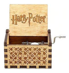 Caixinha De Música Harry Potter Caixa De Música Harry Potter Manivela Novo 2020