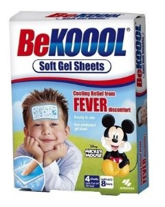 Be Kool Adesivo Infantil Alívio Da Febre - Koool Fever Usa