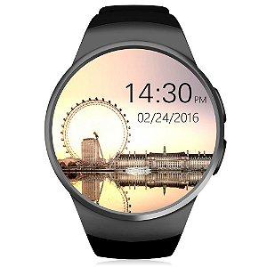 KingWear KW18 Relógio Inteligente Bluetooth Monitor de Frequência Cardiaca