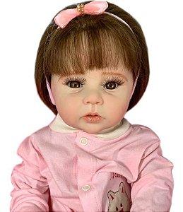 Bebê Reborn Corpo Todo Vinil Silicone Revan Realista Infantil Presente Doll Artesanato