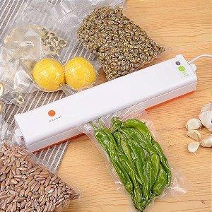 Seladora A Vácuo Freshpack Pro Embaladora De Alimentos Elétrica Portátil 110v