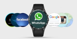 Relógio Smartwatch Com WI-FI GPS e Bluetooth KW88 Android 5.1 3G Chip 4Gb