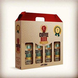 Kit c/4 Garrafas de Cerveja Artesanal Expressus Premium Coffee IPA