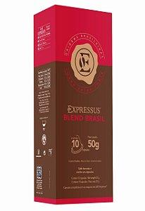 Cápsulas de Café Expressus Origens Brasileiras Blend Brasil (Compatíveis com Máquinas Nespresso)