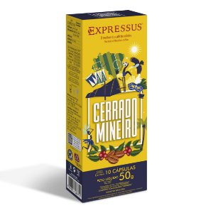 Cápsulas de Café Expressus Momentos Brasileiros - Cerrado Mineiro (Compatíveis com Máquinas Nespresso)