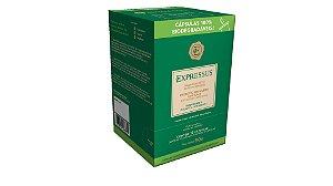 Cápsulas de Café Expressus Biodegradáveis - Ristretto Brasileiro (Compatíveis com Máquinas Nespresso)