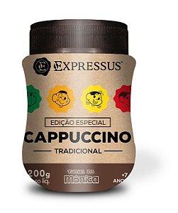 Cappuccino Expressus Turma da Mônica TRADICIONAL 200g. (Na compra de 2 Unidades a 3 Unidade é Grátis).