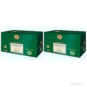 Kit 66 Cápsulas de Café Expressus Biodegrádavel Ristretto Brasileiro