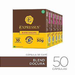 Kit c/50 Cápsulas de Café Origens Brasileiras Blend Doçura