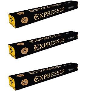 Kit C/30 Cápsulas de Café Expressus Nações América