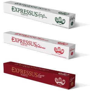 Kit C/30 Cápsulas de Café Expressus Tributto