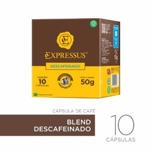 Cápsulas de Café Origens Brasileiras - Blend Descafeinado