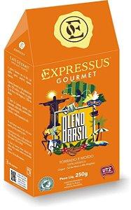 Expressus Café Torrado e Moído Blend Brasil 250g