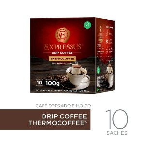 10 Sachês de Café Drip Coffee - Blend Thermocoffee