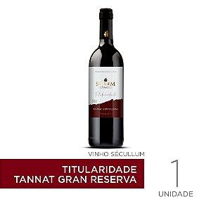 Vinho Sécullum Titularidade Tannat Gran Reserva