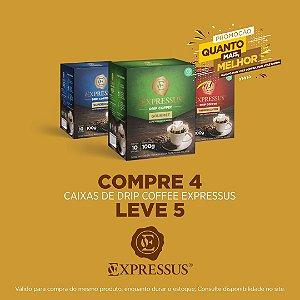Compre 4 Leve 5 Caixas de Café Expressus Drip Coffee - Blend Superior