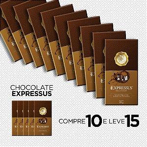 Compre 10 e Leve 15 Barras de Chocolate Belga ao Leite com Recheio de Marshmallow