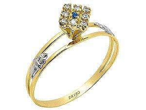 Anel de Formatura em Ouro 18K750 Ref. ANF181