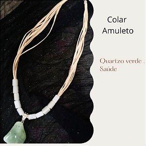 Colar de Palha - Coleção Amuleto