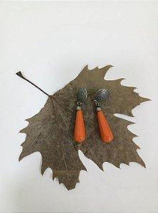 Brinco de Resina - Coleção Orange